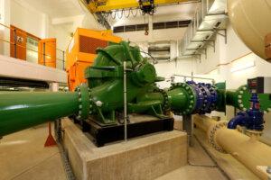 huge industrial waterpump