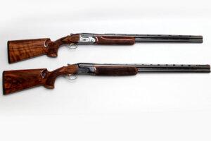 two shotguns