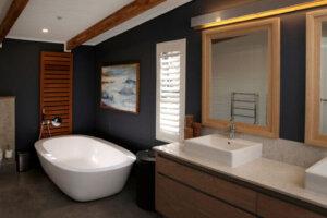 modern upscale bathroom