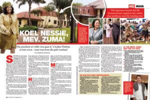 Thobeka Zuma article Huisgenoot