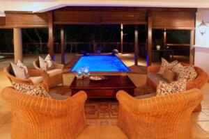 luxury home with indoor pool